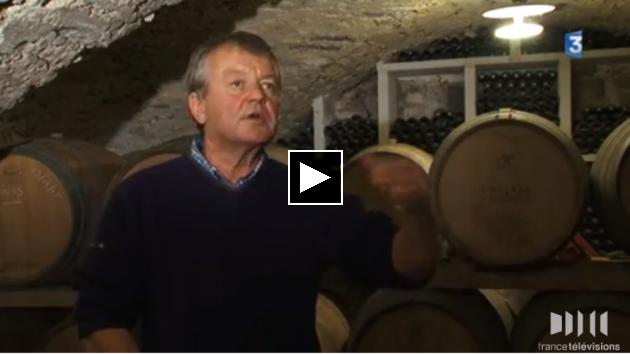 BLOG - leçon de vinification au Château de Cazeneuve - France 3 Languedoc Roussillon - sept. 2015 - André Leenhardt
