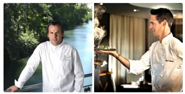 Charles Fontes et Cyril Attrazic, deux Chefs étoilés au 17ème Salon d'Aniane - 24, 25 et 26 juillet 2015