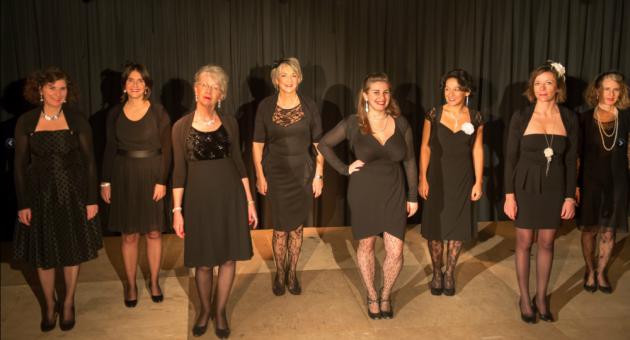 Chorale - Acte Chanson - Jazz à tous les étages - Chanson française - 2014/2015