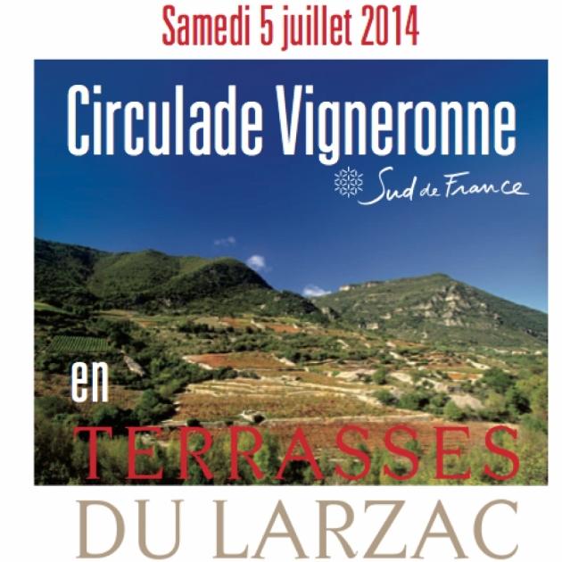 Circulade en Terrasses du Larzac 2014