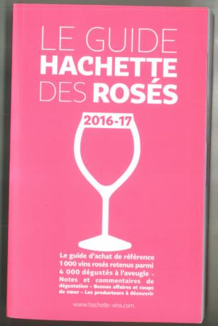 Clos des Clapisses rosé dans le Guide Hachette 2016 (photo by Wine LR)