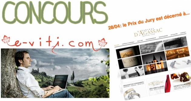 Concours e-VITI - Qui tient le meilleur site Internet de vigneron ? - Résultats du concours