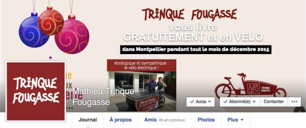 Création du compte Mathieu Trinque Fougasse sur Facebook - décembre 2015 - BLOG