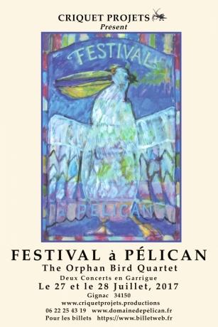 Criquet Projets présente Le Festival à Pélican - 27 et 28 juillet 2017 à Gignac © (c)Criquet Projets