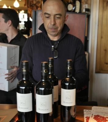 Dégustation Terre de Vins avril 2012 - O'Sud - soirée - Sylvain Fadat Aupilhac