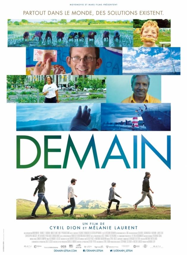 """""""DEMAIN"""" le film, projection en plein air chez Virgile Joly le 27 août 2016 - Sain-Saturnin"""
