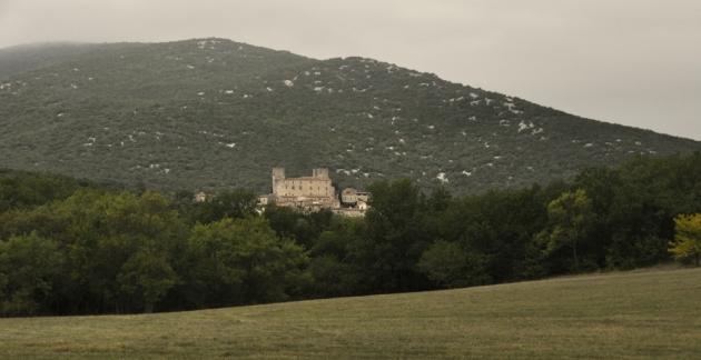 Domaine d'Anglas - octobre 2012 - paysage