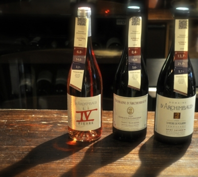 Domaine d'Archimbaud - les cuvées les vins - Estival'Off #3 - 2012