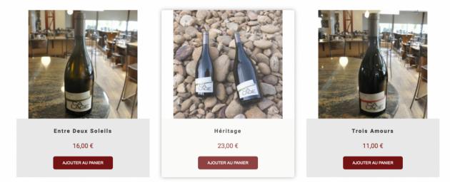 Domaine Décalage - Boutique de vente en ligne Trinquefougasse