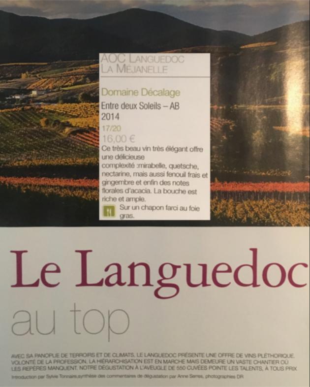 Domaine Décalage dans le TOP 180 de Terre de Vins