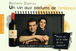 Domaine Esperou - Cru Boutenac en dégustation chez Trinque Fougasse O'Nord le 29 avril 2015