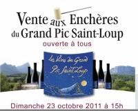 Enchères Pic Saint Loup