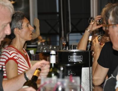 Estival'Off #9 - 2012 - Bar à vins - Philipe Serra - Valérie Cabanes - Domaine du Dausso