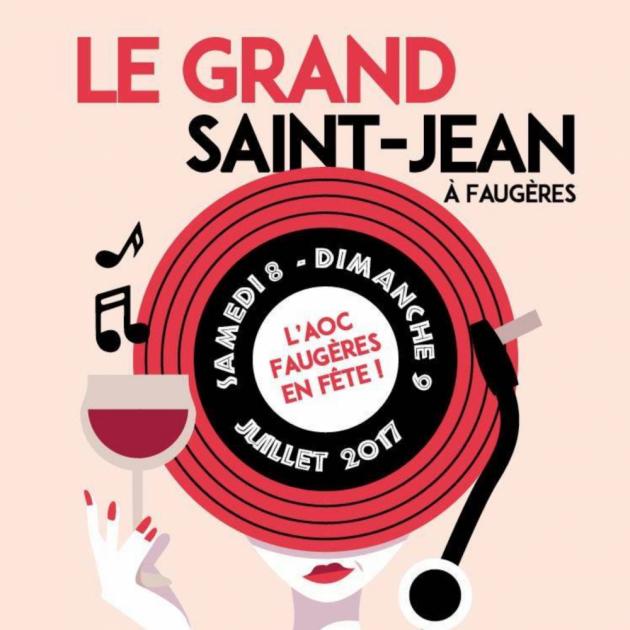 Fête du Grand Saint Jean 2017 à Faugères - Blog Trinquefougasse