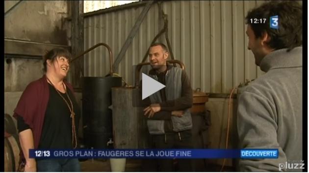 Françoise Ollier - France 3 Languedoc Roussillon - Fine de Faugères - Distillation