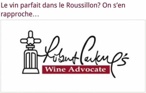 Jeb Dunnuck dévoile ses notes sur le millésime 2013 en Roussillon