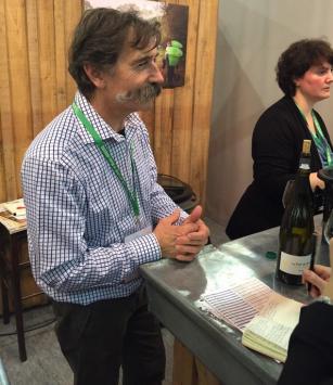 Jo Landron - Salon des Vins de Loire 2015 - par Patricia HUCZEK © (c)Patricia HUCZEK
