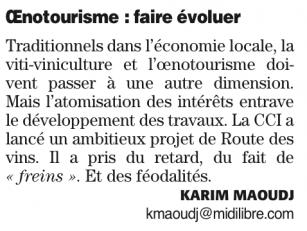 La nouvelle grande Région et l'oenotourisme - Midi Libre