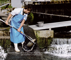 La Pisciculture de Banca - journal La Semaine du Pays Basque - octobre 2012