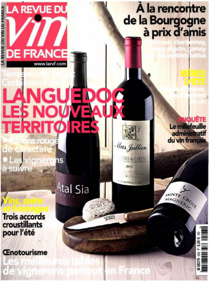 La RVF juillet-août 2015 - les terroirs du Languedoc
