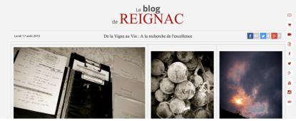 Le Blog du Château de Reignac