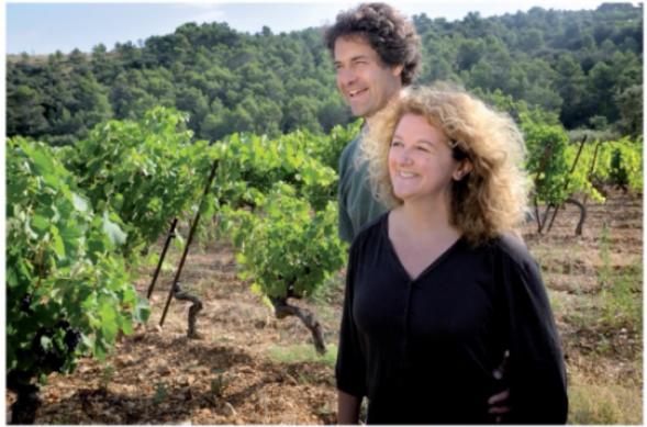 Le Clos du Gravillas dans Terre de Vins - novembre 2013 © crédit photo Emmanuel Perrin pour Terre de vins