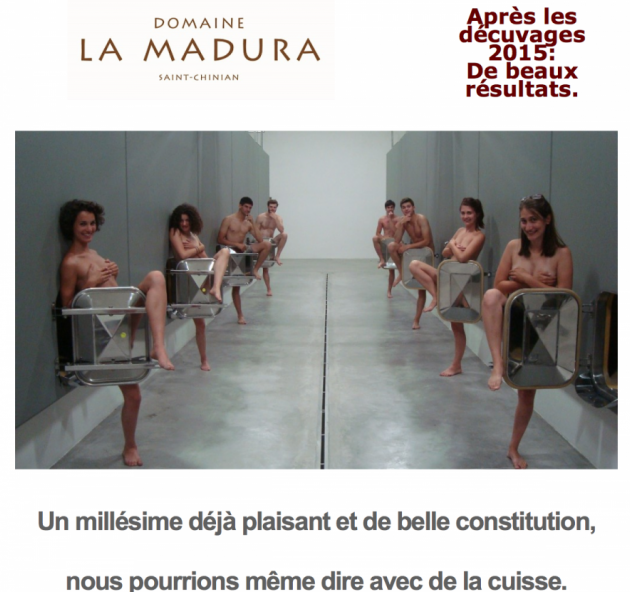 Le Domaine de la Madura : un millésime avec de la cuisse - BLOG TrinqueFougasse - nov. 2015