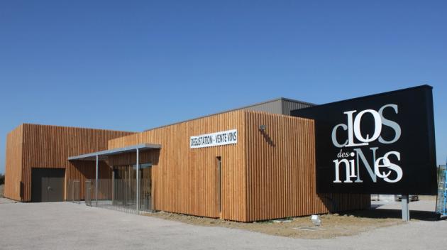 Le nouveau Caveau du Clos des Nines à Fabrègues ouvre ses portes - août 2014