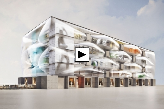 LE NUAGE - projet architectural by Philippe Starck - Montpellier