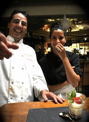 Le Tiramisu aux fraises de Domi & Lila - juin 2012