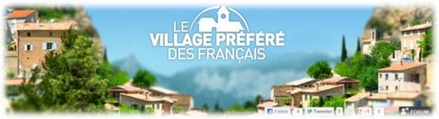 Le village préféré des français 2012