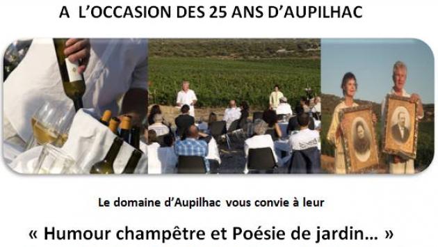 Les 25 ans du Domaine d'Aupilhac - Montpeyroux - Le 4 juillet 2014