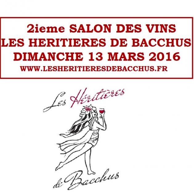 Les Héritières de Bacchus - 13 mars 2016 - BLOG TRINQUE FOUGASSE