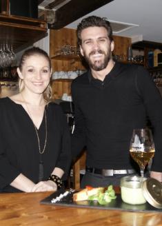 Les Nuits Gastronomiques de Montpellier - 25 février 2015 chez Trinque Fougasse O'Sud - Mathieu et Scarlett