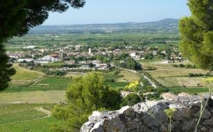 Les régalades viticoles à Montpeyrou.