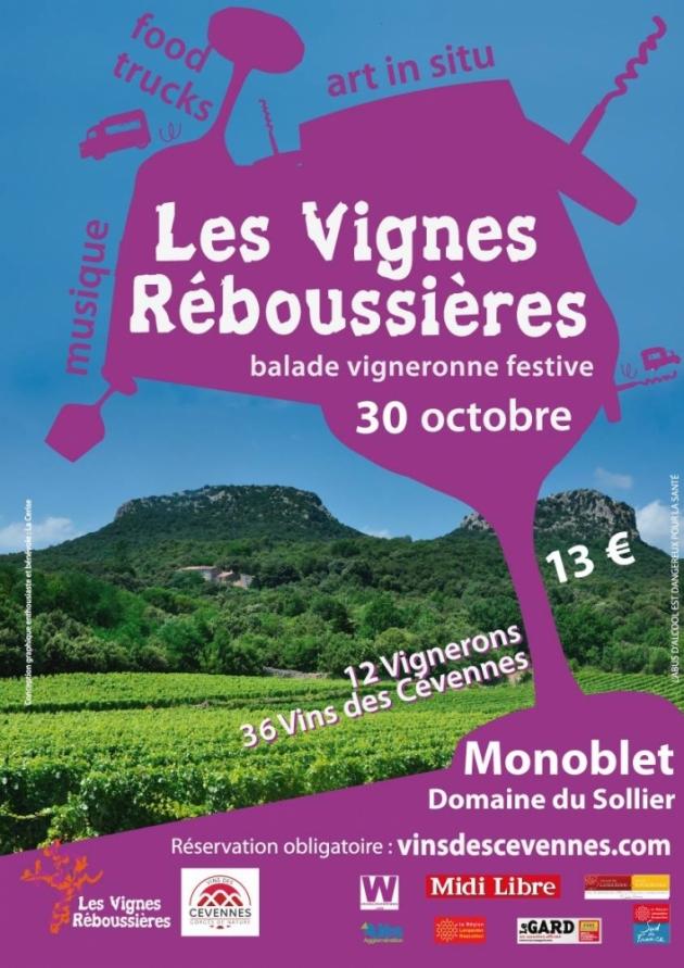 Les Vignes Réboussières 2016 à Monoblet, au Domaine Le Sollier