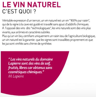 Marcel Lapierre - Siné - Qu'est-ce qu'un vin nature ? © http://www.marcel-lapierre.com/#/home