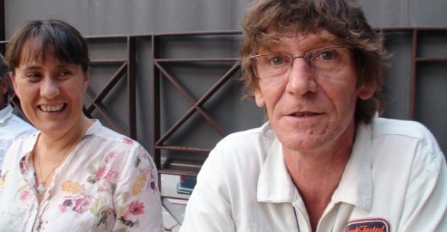 Marie et Fred Chauffray - Réserve d'O - Estival'off #4 - terrasse - 2012