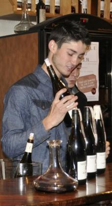 Mas de Figuier - Pierre Pagès - janvier 2013 au bar à vins