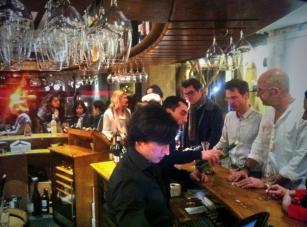 Millésime Bio 2014 - Trinque Fougasse O'Sud - AFTER SHOW - Alejandro Coloma - Olivier Consuegra - Bar à Vins