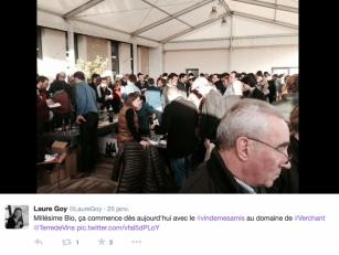 Millésime Bio 2015 - Retour en réseaux sociaux - Verchant Le Vin de mes Amis 2015