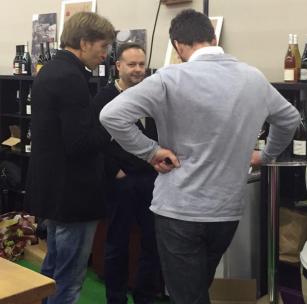 Nicolas Gaignon Vignoble du Loup Blanc - Salon des Vins de Loire 2015 - par Patricia HUCZEK © (c)Patricia HUCZEK
