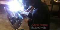 Nicolas Jouas - sculpteur métal - au Plan de l'Homme les 28 et 29 mars 2015
