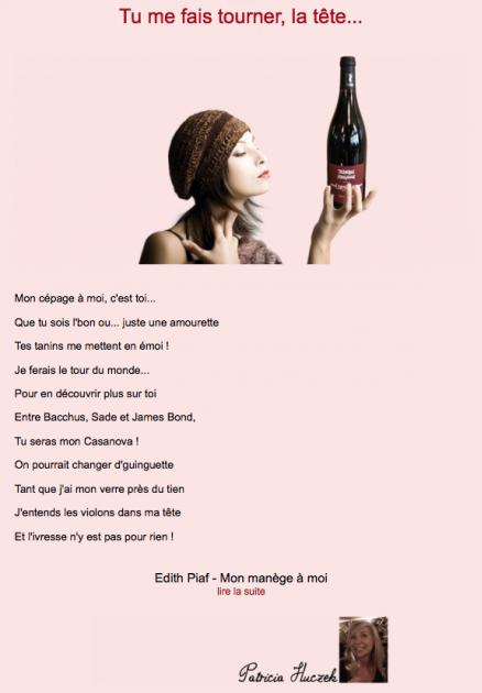 Niouzeletteur - Tu me fais tourner la tête - Février 2014 - Patricia Huczek