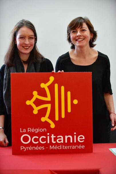 Nouveau logo Occitanie - février 2017 - Carole Delga - La Gazette