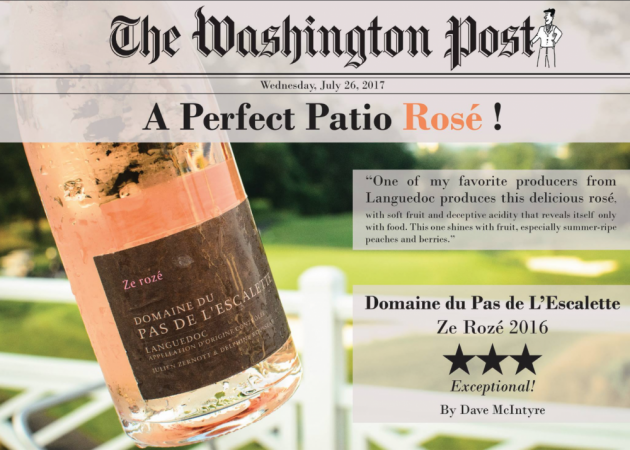 "Pas de l'Escalette ""Ze Rosé"" dans le Washington Post"