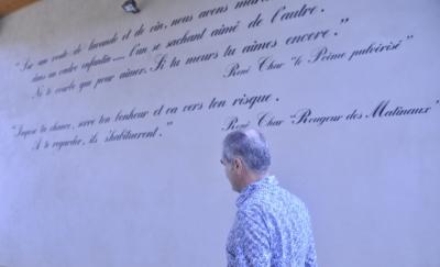 Pascal FULLA - Mas de l'Écriture - visite du 12 août 2011