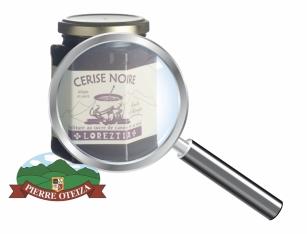 Pierre Oteiza - Gros Plan - Confiture de cerise noir