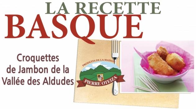 Pierre Oteiza - Recette - croquettes de jambon de la Vallée des Aldudes