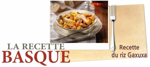 Pierre Oteiza - Recette - Recette de riz Gaxuxa